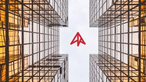 InstaNorth Between Buildings