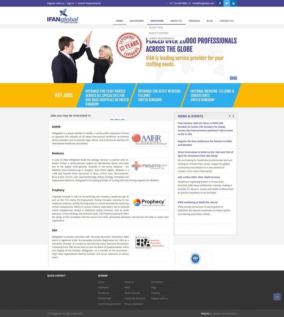 IFANglobal Website Developer